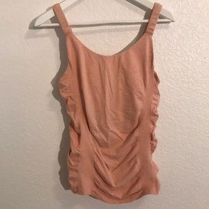 Athleta Peach colored work out top